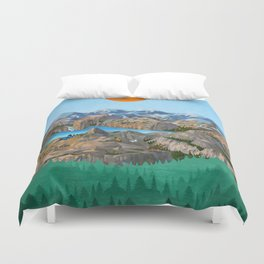 Rock Trip Duvet Cover