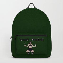 Big butt green Backpack