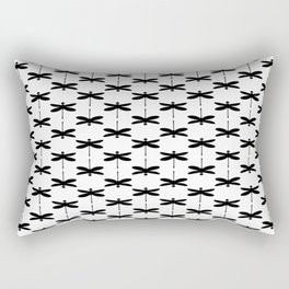 Bugs: abstract Dragonfly Rectangular Pillow