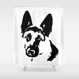 German Shepherd Dog Gifts Shower Curtain