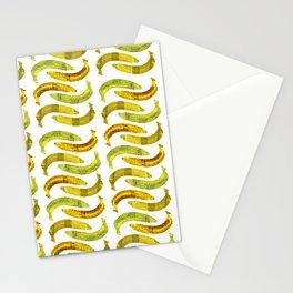 Banana Madura - White BG Stationery Cards