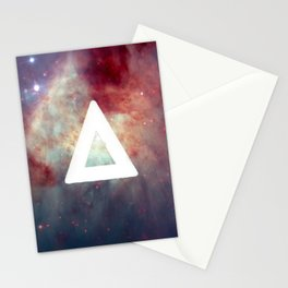 Bastille Galaxy Triangle Stationery Cards