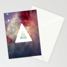 Bastille Galaxy Triangle Stationery Cards