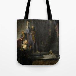 The Raising of Lazarus Tote Bag