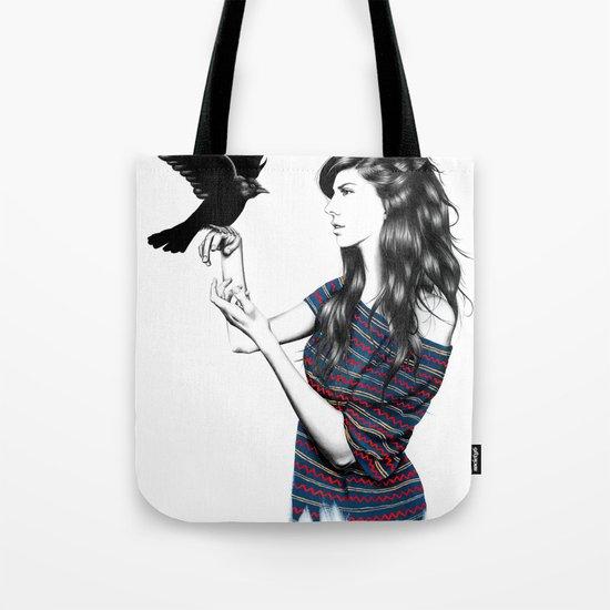 Dark Wings Tote Bag