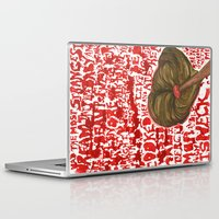 dramatical murder Laptop & iPad Skins featuring Mop Murder by Creative Stace