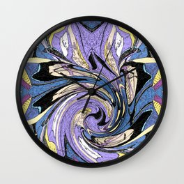 flowers bloom Wall Clock