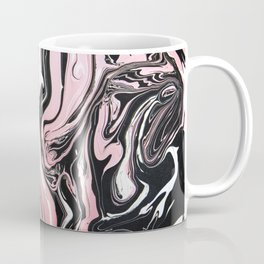 Rose gold & black ink Coffee Mug