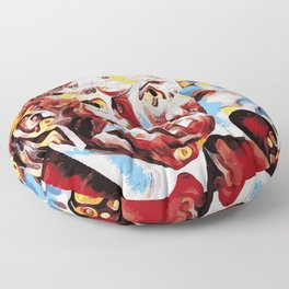 The Leader of the Free World is a Monster Floor Pillow