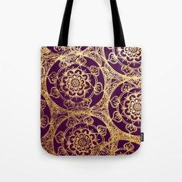 Mandala Luxe Tote Bag