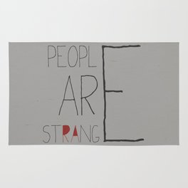 People Are Strange Rug