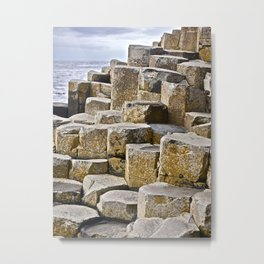 Giants Causeway, Co. Antrim Metal Print