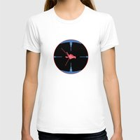 nasa T-shirts featuring Tie Fighter Meets NASA Voyager 1 by Ryan Huddle House of H