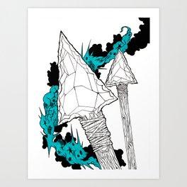 Arrowhead  Art Print