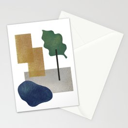 Abstract organic forms 2 Stationery Cards