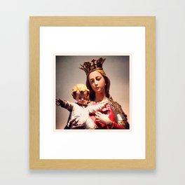 m/j Framed Art Print