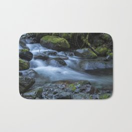 Water, Moss and Rocks Bath Mat