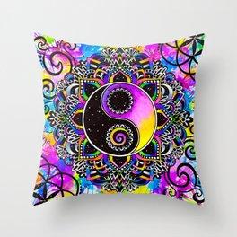 Magical Balance Throw Pillow