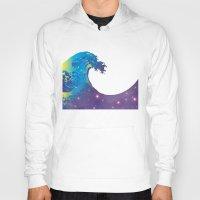 hokusai Hoodies featuring Hokusai Universe by FACTORIE