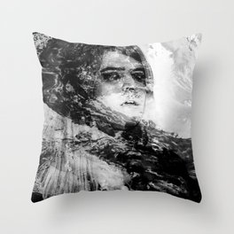 Holy Damned III Throw Pillow