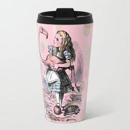 Alice plays Croquet Travel Mug