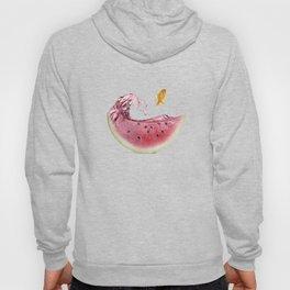 watermelon goldfish 02 Hoody