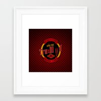 true blood Framed Art Prints featuring TRUE BLOOD by BeautyArtGalery