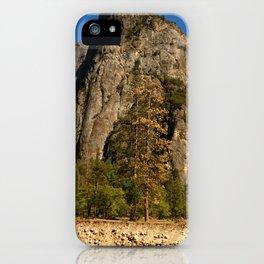 Peaceful Yosemite Valley Scene iPhone Case