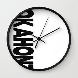 Smokahontas Wall Clock