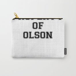 Property of OLSON Carry-All Pouch
