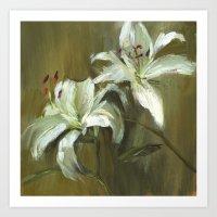 Lily Bliss II Art Print