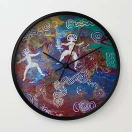 Weeri And Walawidbit Wall Clock