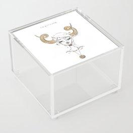 Capricorn Acrylic Box