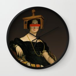 Another Portrait Disaster · Francoise 1 Wall Clock