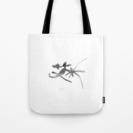 Amy_Name_Abstract_Calligraphy_typo_Chinese Word_05 Tote Bag
