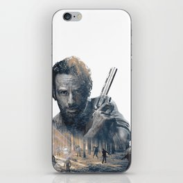 Rick TWD iPhone Skin