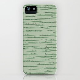 Map Collection: Countryside iPhone Case