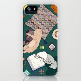 Hygge Kitten iPhone Case
