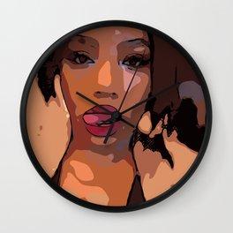 Lip Licker Wall Clock