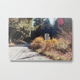 No Law-Film Camera Metal Print