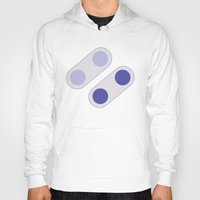 video game Hoodies featuring Video Game Buttons by John Trivelli