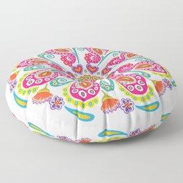 """Carousel Of Love"" No.1 | Mandala Design Floor Pillow"