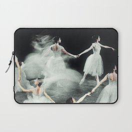 Ghost Dance, Vintage Ballet Laptop Sleeve