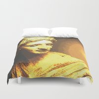 apollo Duvet Covers featuring Apollo III by Jerry Watkins