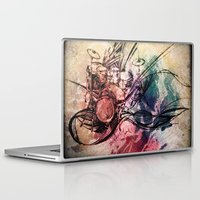 drum Laptop & iPad Skins featuring Drum by Joanne Chen