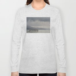 waiting for the storm to pass over Lake Tahoe ... Long Sleeve T-shirt