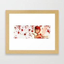 Fairy's Kiss Framed Art Print