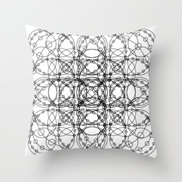 Circle Splendor 18 Throw Pillow