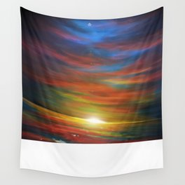 Sunset sky Wall Tapestry