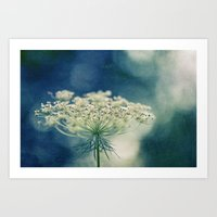 lace Art Prints featuring Lace by Sandra Arduini